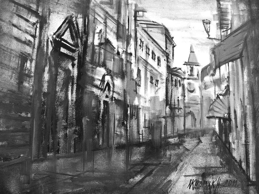 City Everyday Life  Painting