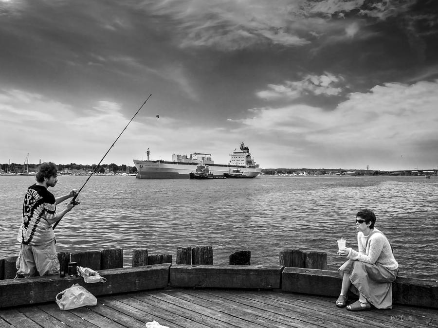 City Fishing Photograph