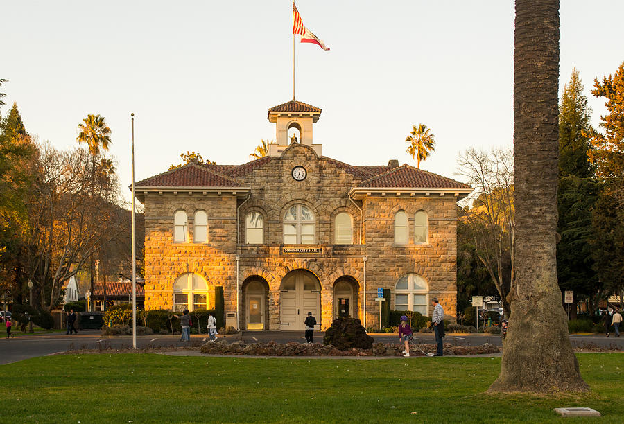 City Hall Sonoma Photograph