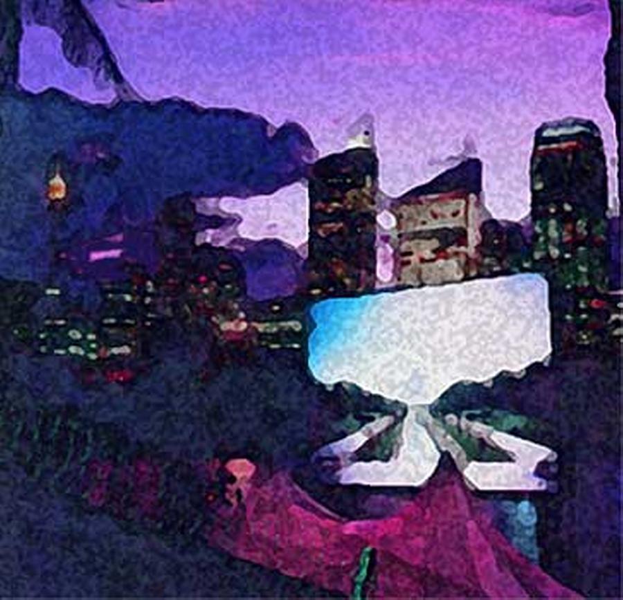 City Nights Digital Art