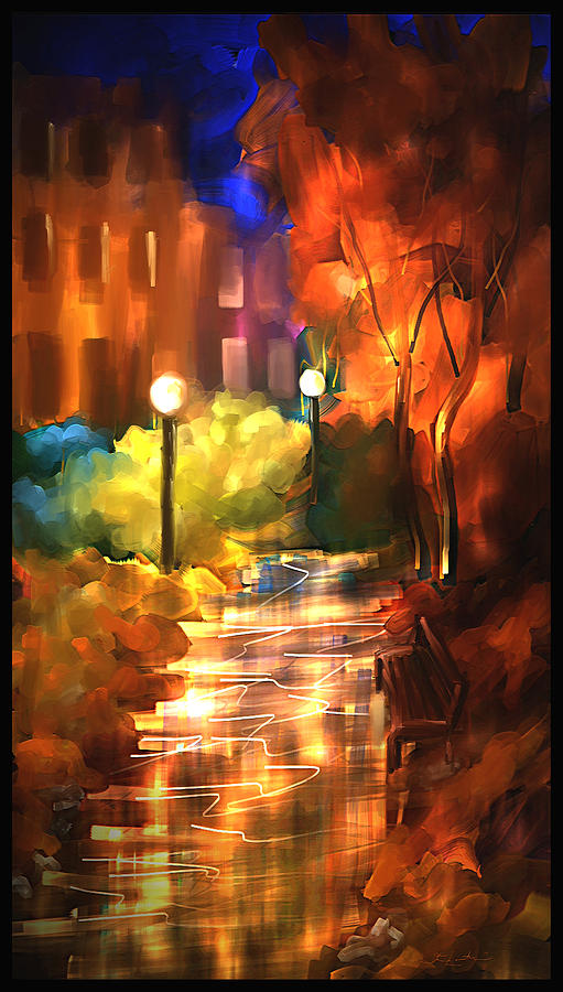 City Nights Painting