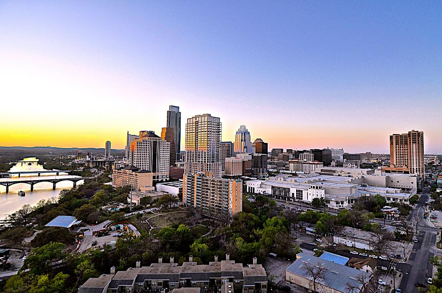City Of Austin Texas Photograph