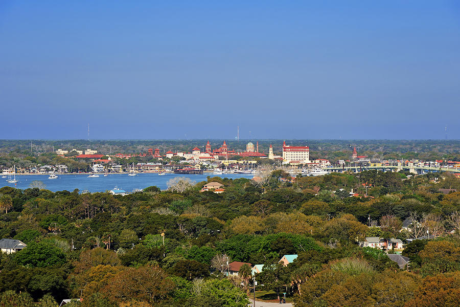 City Of St Augustine Florida Photograph