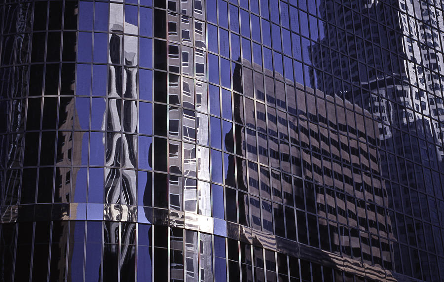 City Reflected Photograph  - City Reflected Fine Art Print