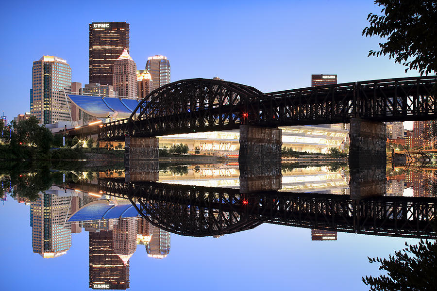 City Reflections Photograph