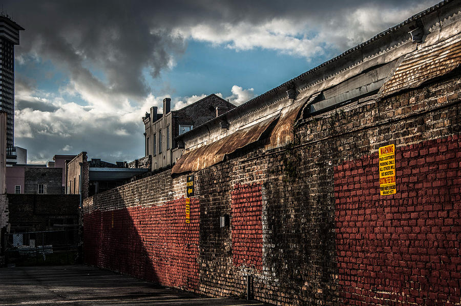 Street Photograph - Cityscape 26 A Nola by Otri Park