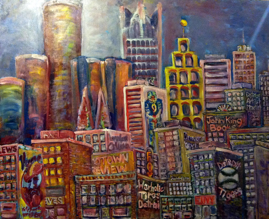 Cityscape 9 Painting