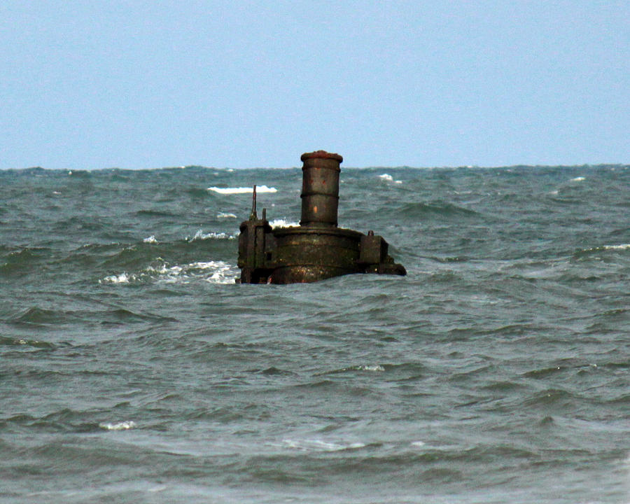 Civil War Shipwreck Photograph