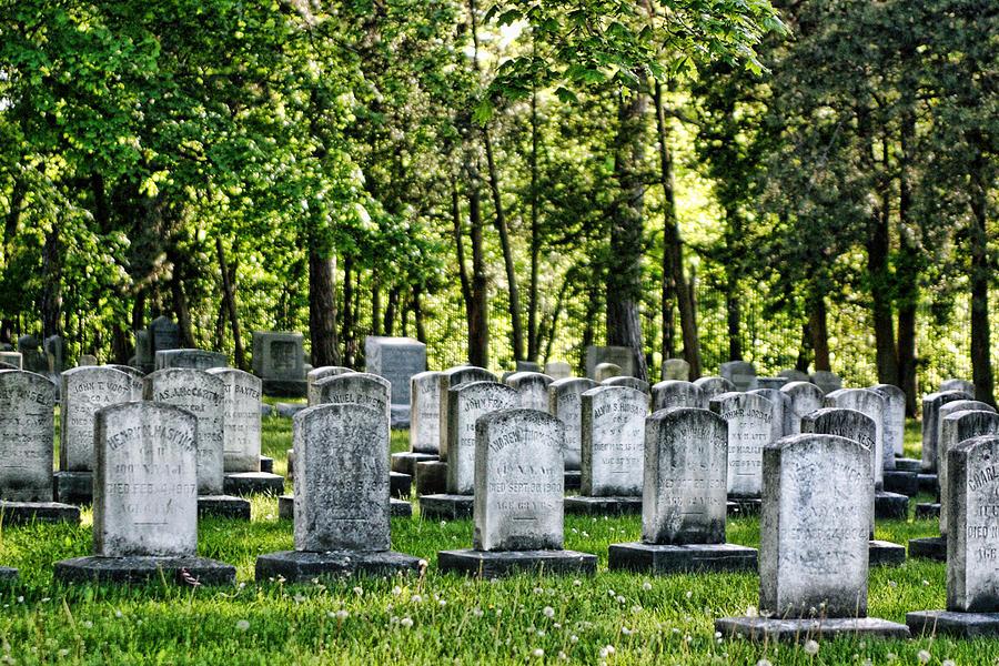 Civitl War Warrior Graves Photograph