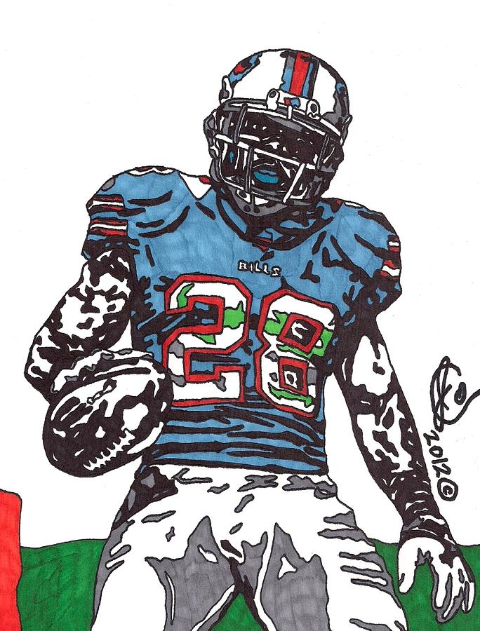 Cj Spiller Drawing  - Cj Spiller Fine Art Print