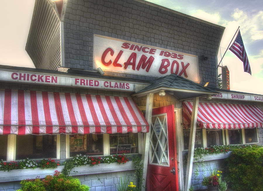 Clam Box Restaurant - Ipswich Ma Photograph
