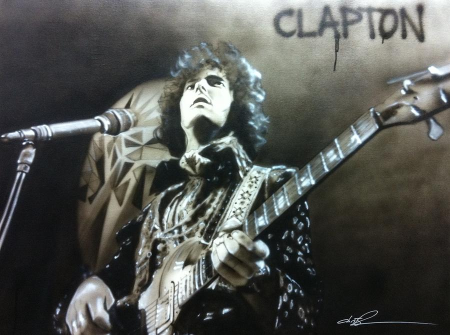 clapton Painting