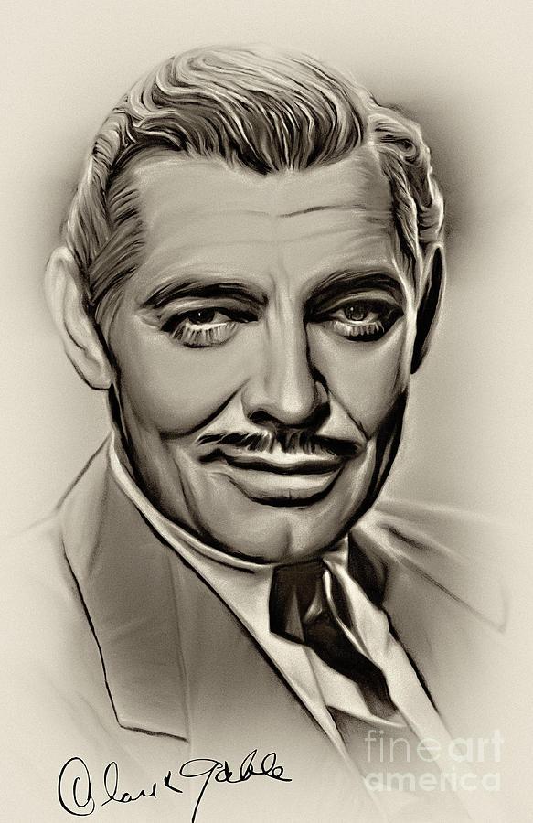 Clark Gable Photograph