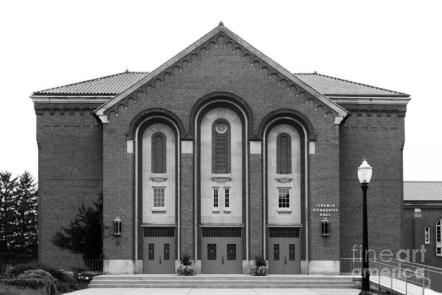 Clarke University Donaghoe Hall Theater Photograph