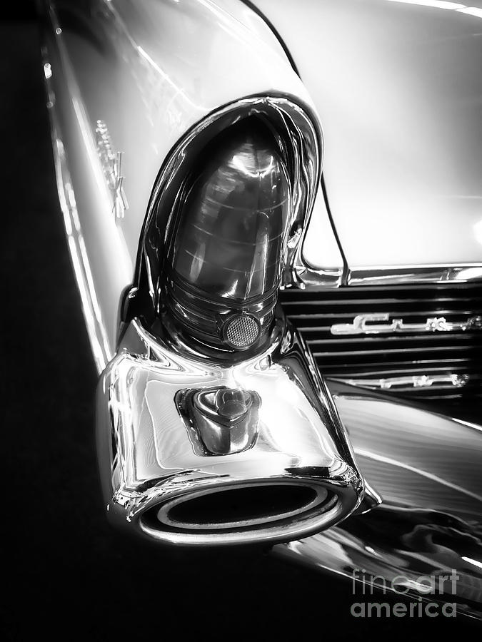 Classic Car Tail Fin Photograph  - Classic Car Tail Fin Fine Art Print