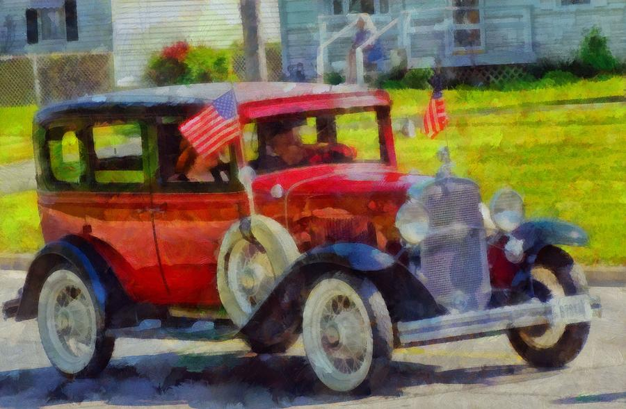 Classic Cars American Tradition Painting - Classic Cars American Tradition by Dan Sproul