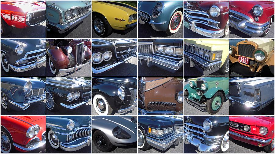 Classic Cars At Hershey Photograph  - Classic Cars At Hershey Fine Art Print