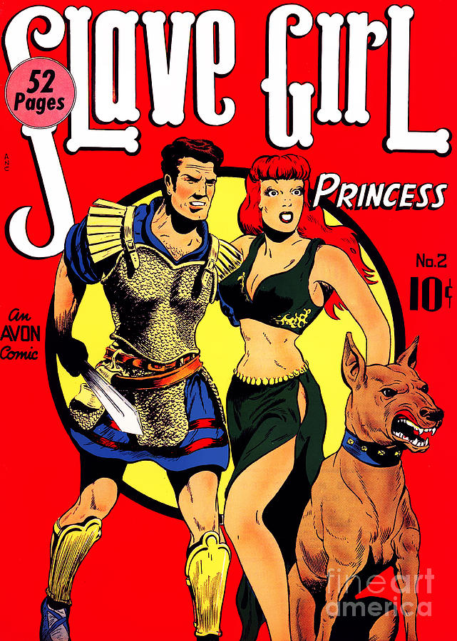 Classic Comic Book Cover - Slave Girl Princess - 1110 Photograph