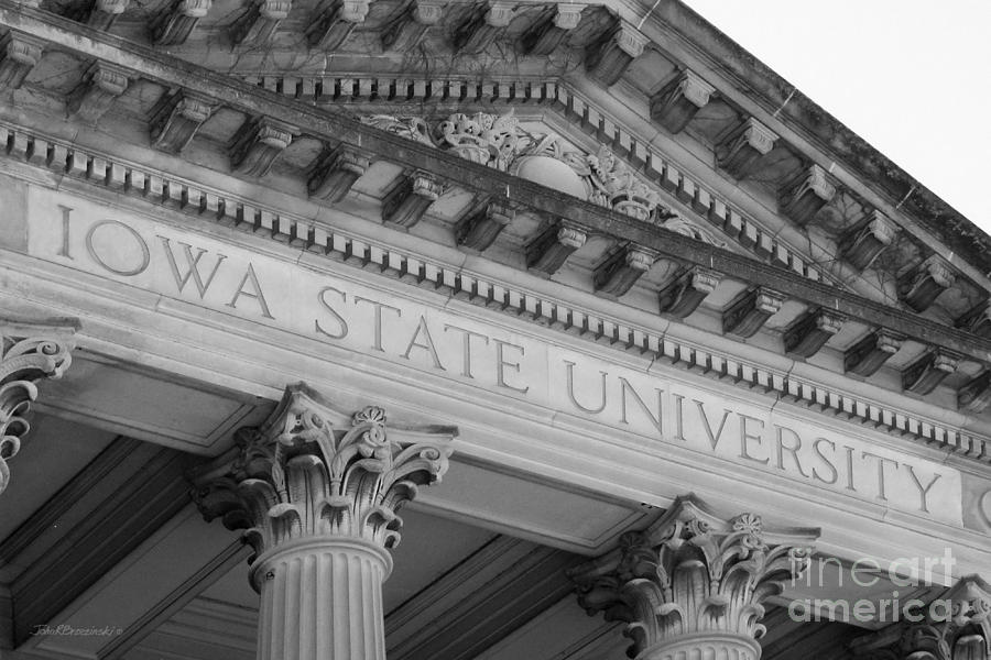 Classic Iowa State University Photograph