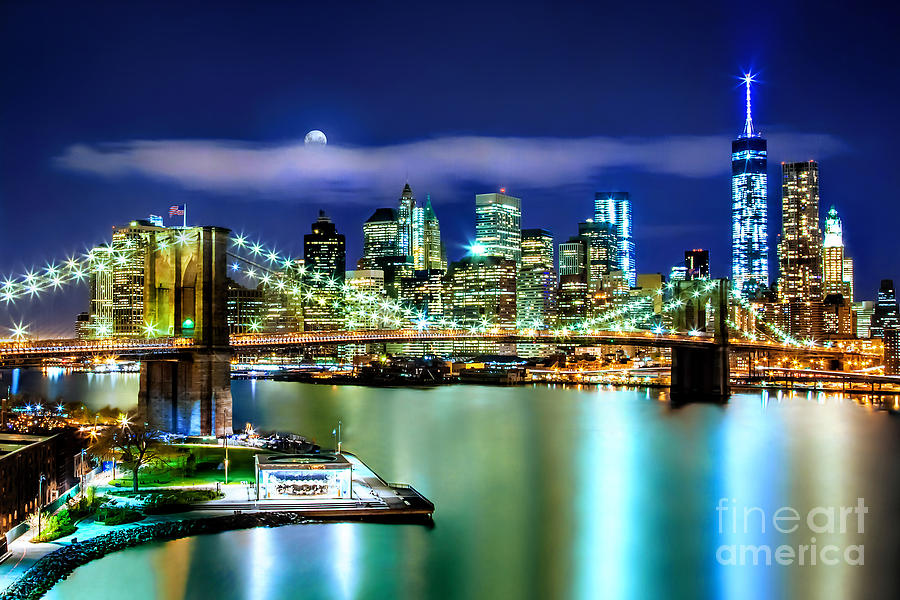 Classic New York Skyline Photograph
