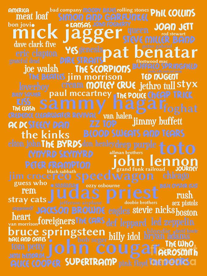 Classic Rock 20130625p168 Digital Art