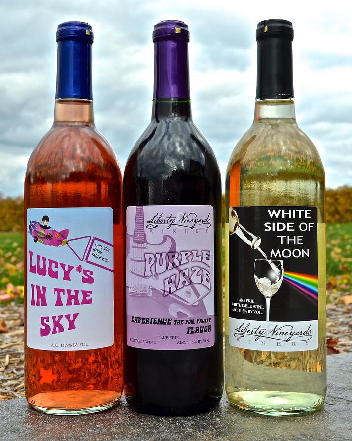 Classic Rock Classic Wine Photograph