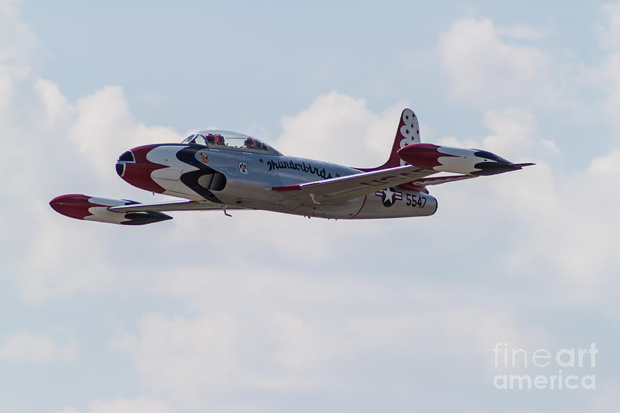Air Force Photograph - Classic Thunderbird by Brandon Hussey