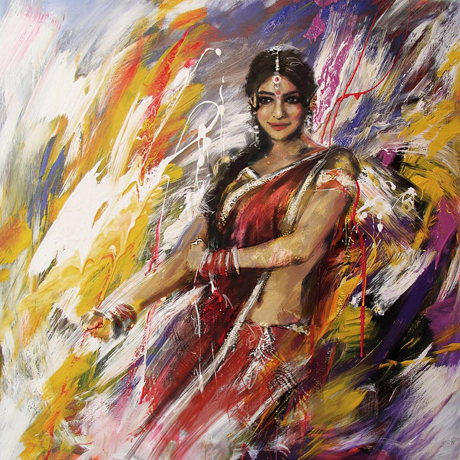 Landscape Paintings Of Dancers For Sale