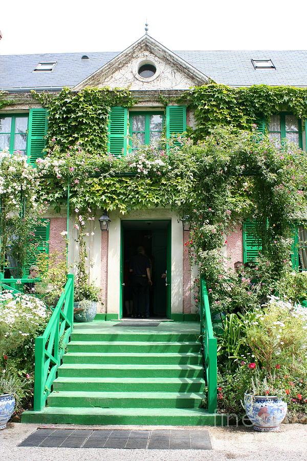 Claude Monets Home Photograph