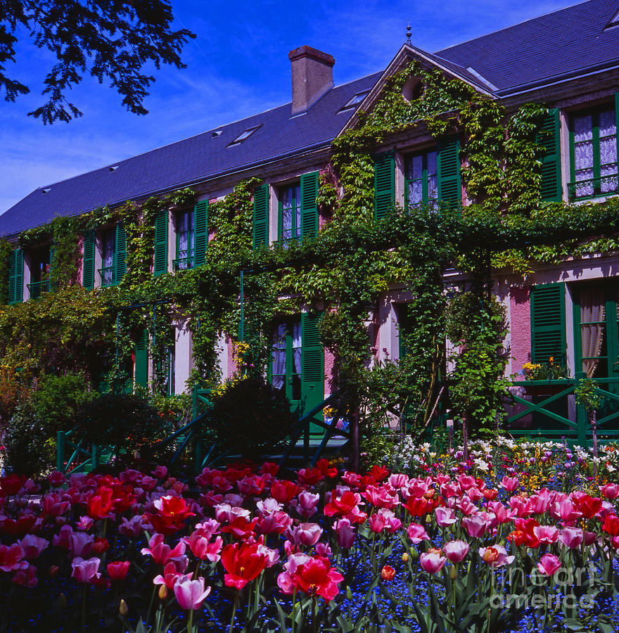Claude Monet 39 S House In Giverny Photograph By Alex Cassels