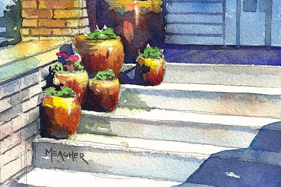 Clay Pots Painting
