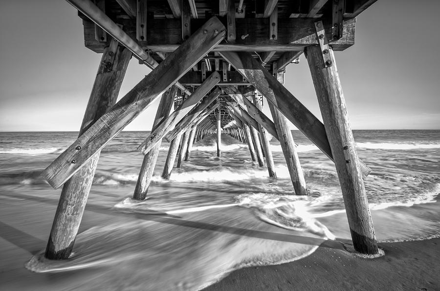 Clear Day At The Pier Photograph  - Clear Day At The Pier Fine Art Print