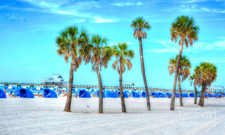 Clearwater Beach Photograph - Clearwater Beach by Debbi Granruth