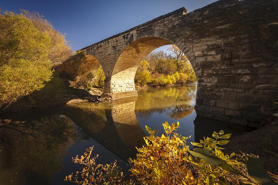 Clements Stone Arch Bridge Photograph