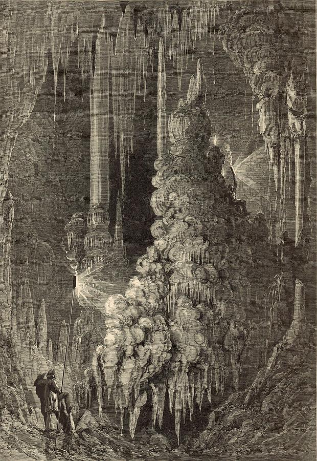 Cleopatras Needle And Anthonys Pillar 1872 Engraving Painting