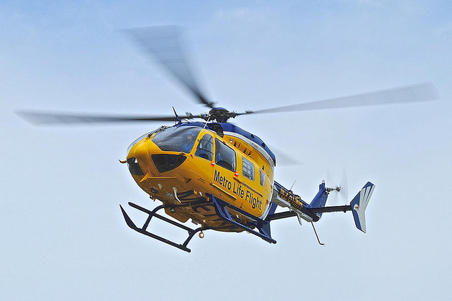 Cleveland Metro Life Flight Photograph