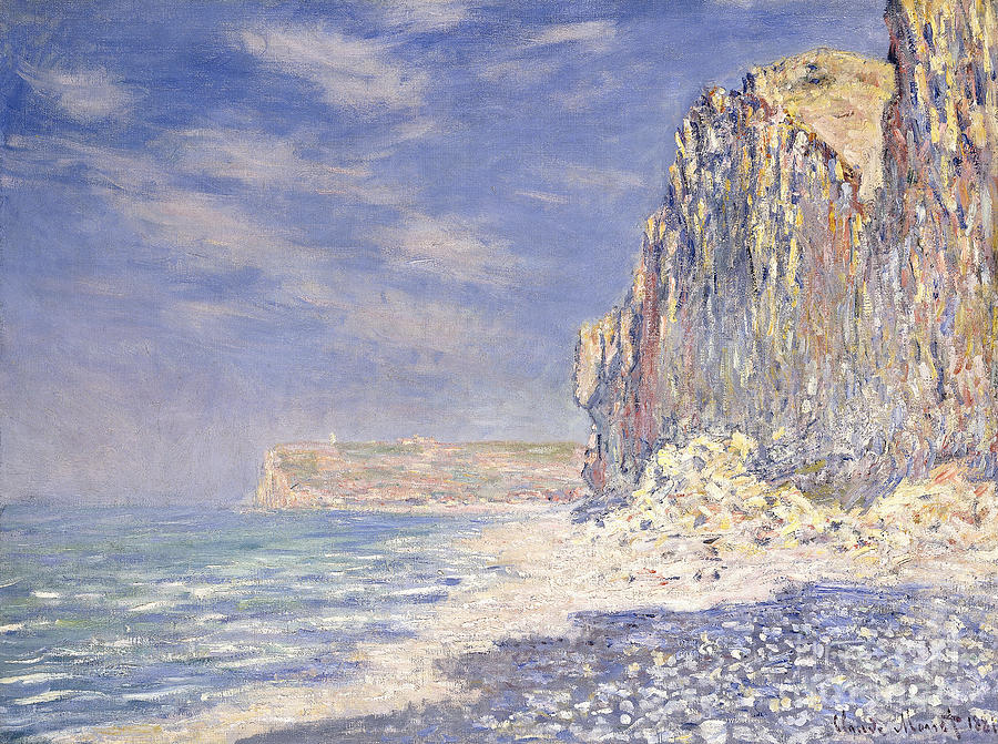 Cliffs Near Fecamp Painting