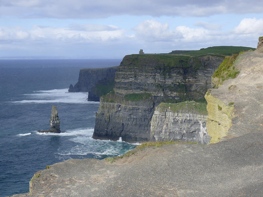 Cliffs Of Moher 4 Photograph  - Cliffs Of Moher 4 Fine Art Print