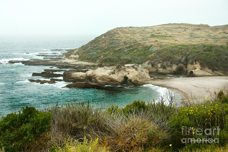 Cliffs Over Montana De Oro California Photograph  - Cliffs Over Montana De Oro California Fine Art Print