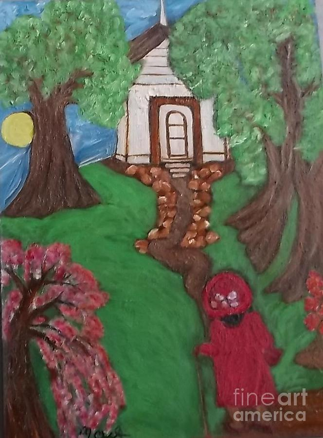 Climbin 2 Painting