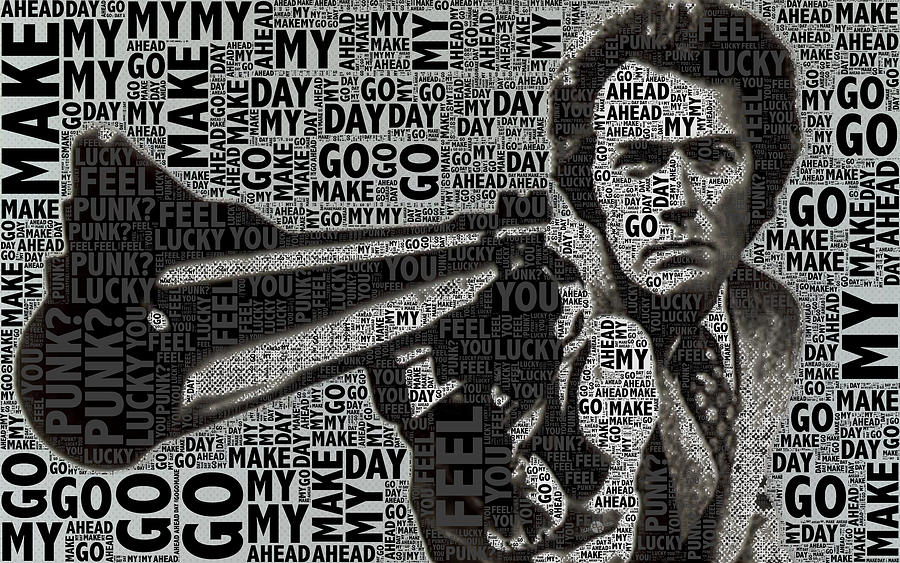 Clint Eastwood Dirty Harry Photograph