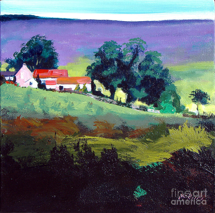 Clitherbeck In The North York Moors Painting  - Clitherbeck In The North York Moors Fine Art Print