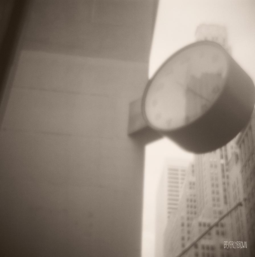 Clock 42nd Street Photograph