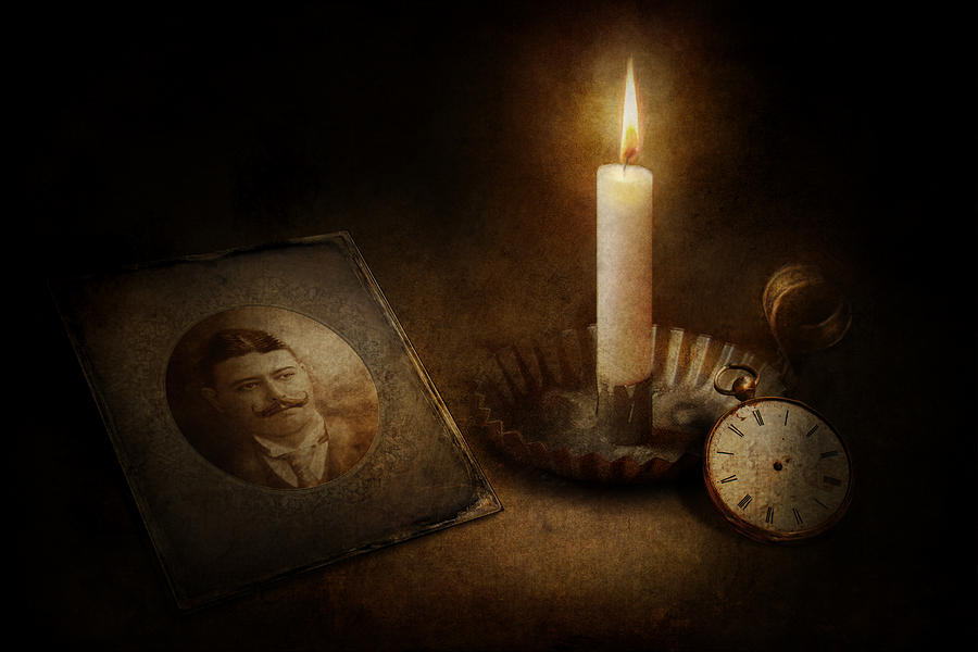 Clock - Memories Eternal Photograph  - Clock - Memories Eternal Fine Art Print