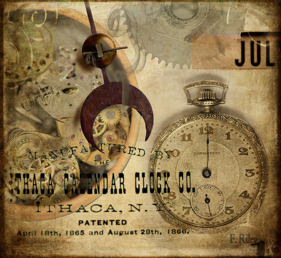 Clock Photograph - Clockworks by Fran Riley