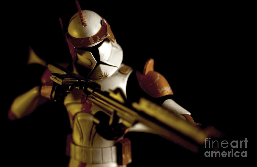 Clone Trooper 2 Photograph  - Clone Trooper 2 Fine Art Print