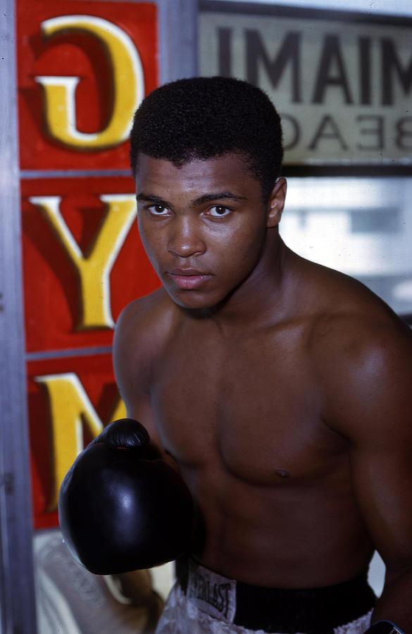 Close Up Of Muhammad Ali Photograph