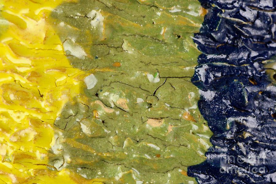 Ceramic Ceramic Art - Closeup Of Glazed Ceramics by Kerstin Ivarsson