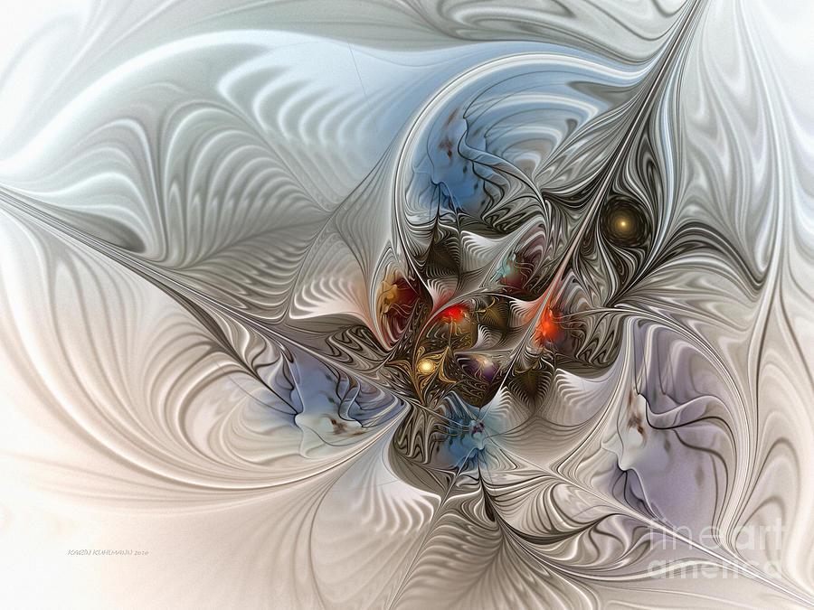 Cloud Cuckoo Land-fractal Art Digital Art