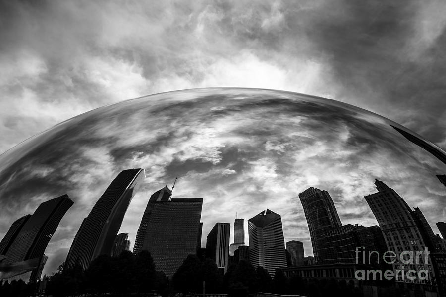 Cloud Gate Chicago Bean Photograph